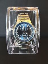 GENEVA Stainless Steel Men's Watch   Japan Movement Quartz   NEW