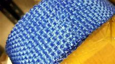 Blue Sports Exhaust Heat Wrap Rap Tape Ideal for Manifold Turbo Dowpipe De Cat