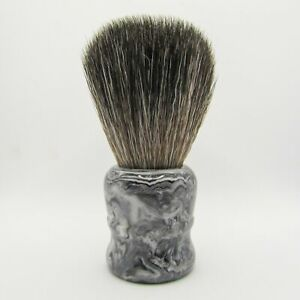 Gray Marble-Style Shaving Brush with Synthetic Knot (29mm SBB-97) - by Pearl Sha