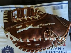 "Easton Core 13"" Fastpitch Softball First Base Glove LHT New"