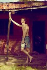 Shirtless Male Swimmers Build Jock Bare Feet Cut Off Jeans PHOTO Pinup 4X6 C1830