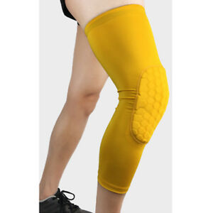 Elastic Sports Knee Protectors Anti-collision Outdoor Basketball Leg Guards