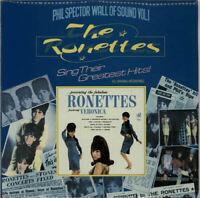 Ronettes Sing Their Greatest Hits vinyl LP album record UK 2307003 SUPERB CDTN