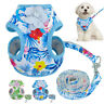 Small Dog Harness&Leads Mesh Padded Pet Puppy Cat Vest for Yorkie French Bulldog