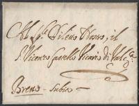 Prefilatelica Repubblica di Venezia anno 1652