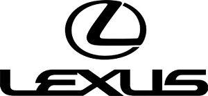 3 X LEXUS CAR, WINDOW ECT VINYL STICKER