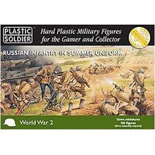 Plastic Soldier Russian Infantry in Summer uniform 15mm