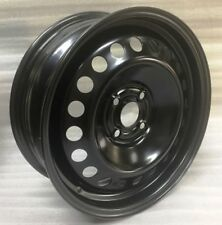 New 16 Inch 4 on 100 Black Steel Wheel Fits Cobalt Spark Yaris Scion Versa 16410