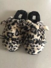 Kate Spade Women's Belindy Cat Slippers Leopard Print Size 9 B 443
