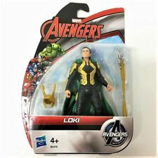 "NEW MARVEL AVENGERS AGE OF ULTRON INITIATIVE LOKI 3.75"" ACTION FIGURE Toy EA211"