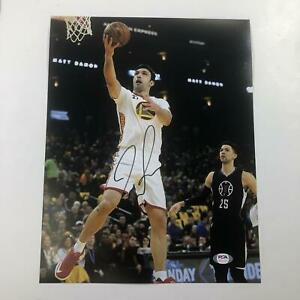 Zaza Pachulia signed 11x14 Photo PSA/DNA Golden State Warriors Autographed