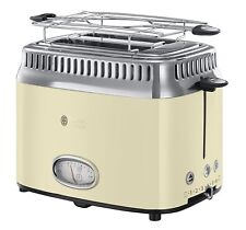 Russell Hobbs 21681-56 Retro Vintage Toaster 2 Slots Defrost and Reheat