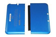 OFFICIAL NINTENDO 3DS XL HOUSING TOP, BOTTOM & COVER BLUE SHELL PART USA