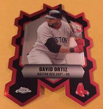 2013 David Ortiz Topps Chrome Close Connection Die Cut #CC-DO Card Nr/Mt-Mt
