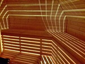 LED-Saunabeleuchtung-Saunalampe, Saunalicht-Farblicht, Sauna LED. 3 Meter LED,,,
