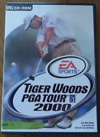 TIGER WOODS PGA TOUR 2000 PC CD ROM