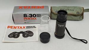 Asahi Pentax 8x30 6.6 Degree Monocular w/ Microscope Close-Up Attachment 62202