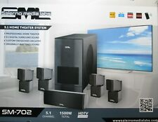 Salerno Media Labs Digital 5.1 Home Theater System6-Piece Speakers MSRP $2999