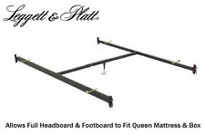 Full Headboard/Footboard to Queen Bed Conversion Hook In Bed Frame Rails 515/1