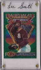 LEE SMITH 1993 FINEST ALL STAR #95 W/SPECIAL EDITION 24K GOLD PRISM HOLDER