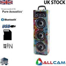PURE ACOUSTICS mcp30 Portatile Karaoke MACCHINA W/Mic per Smartphone,