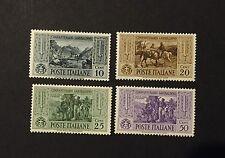 Italie Italy n° 295 - 296 - 297 - 299 neuf