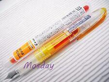 1 Pen + 3 Cartridges Pilot Petit 1 SPN-20F Mini Fountain Pen Fine Nib, AO