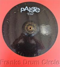 """Paiste Prototype 16"""" Black ColorSound Crash Cymbal Color Sound"""