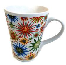 """Gibson Nordic Meadow Mug Floral 4.5"""" High Iota"""