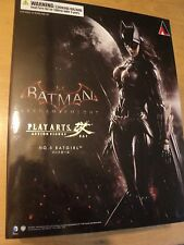 BATMAN ARKHAM KNIGHT: BATGIRL PLAY ARTS KAI FIGURE - NEW AND SEALED