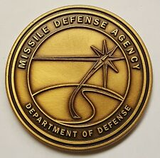 DoD Department of Defense MDA Missile Defense Agency 3 Star Directors Coin