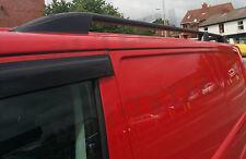 VW Transporter T5 T5.1 T6 SWB Black Aluminium Roof Rails