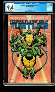 TEENAGE MUTANT NINJA TURTLES #24 CGC 9.4 NM TMNT, Mirage Studios