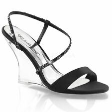 Normale-Weite-(E) Damen-Sandalen & -Badeschuhe mit Keilabsatz/Wedge für Sehr hoher Absatz (Größer als 8 cm)