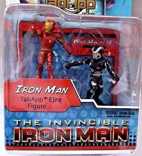 The Invincible Ironman & War Machine Heroclix TabApp Elite Action Figures MIP