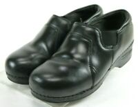 Dansko XP Women's $120 Professional Clogs Shoes Sz EU 38 US 7.5-8 Leather Black