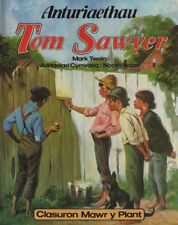 "MARK TWAIN - WELSH LANGUAGE TRANSLATION OF ""TOM SAWYER"" - NORAH ISAAC HB (1983)"