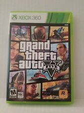 Grand Theft Auto V 5 (Xbox 360, 2013) Map And Manual Excellent Condition