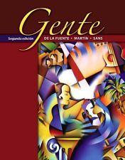 Gente (Segunda edicion) by Mara Jos de la Fuente, Ernesto J. Martn Peris,