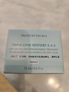 SkinCeuticals Triple Lipid Restore 2:4:2 - 15ml/0.5 Oz , New in Sealed Box