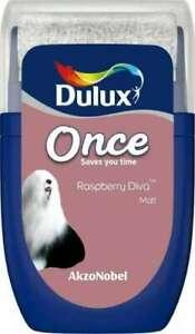 Dulux Retail Once Matt Tester Paint Pot - 30ml - All Colours
