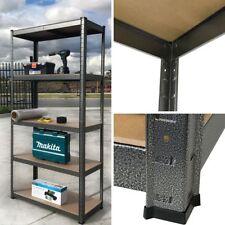 1.2M Metal & MDF Board Warehouse Racking Storage Garage Shelving Rack Shelves