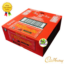 🍫 full box Cadbury Bournville 18 x 100 g classic noir barres de chocolat Vegan ...