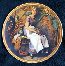 Norman Rockwell's Rediscovered Women Collection Collector's Plate Knowles