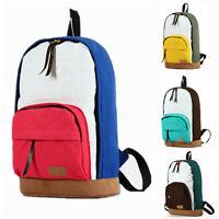 Casual Women Backpack Shoulder School Book Bag Satchel Rucksack Travel Handbag