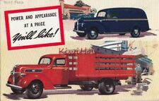 Postcard Cars Trucks Pease Motor Sales Plymouth NH