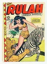 Rulah, Jungle Goddess #18 GD/VG 3.0 1948