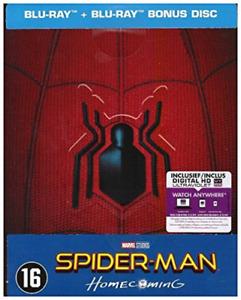 Spider-Man - Homecoming (Steelbook) [Region 2] - Dutch Import BLU-RAY NUOVO