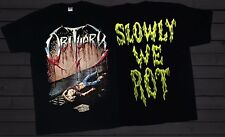 OBITUARY -Slowly We Rot-  American death metal band ,T_shirt-SIZES:S to 6XL