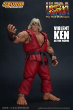 Street Fighter ~ VIOLENT KEN 1/12 SCALE ACTION FIGURE ~ Storm Collectibles